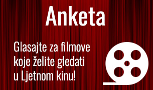 Glasajte za filmove koje želite gledati u Ljetnom kinu!